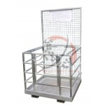 Galvanised Safety Cages